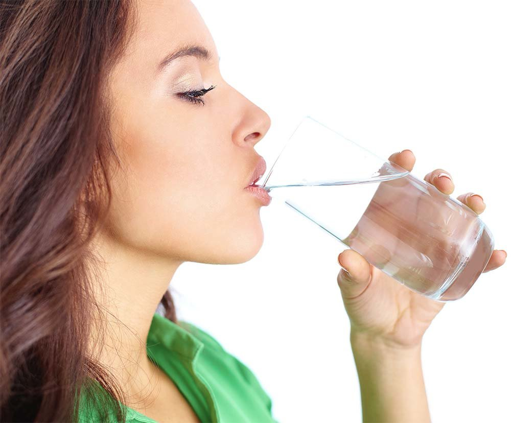 Drink At Least 8 Glasses of Water to Stay Hydrated