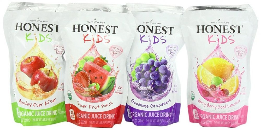 Ensure That Your Kids Are only Drinking a Healthy Drink with these Organic Juice Boxes