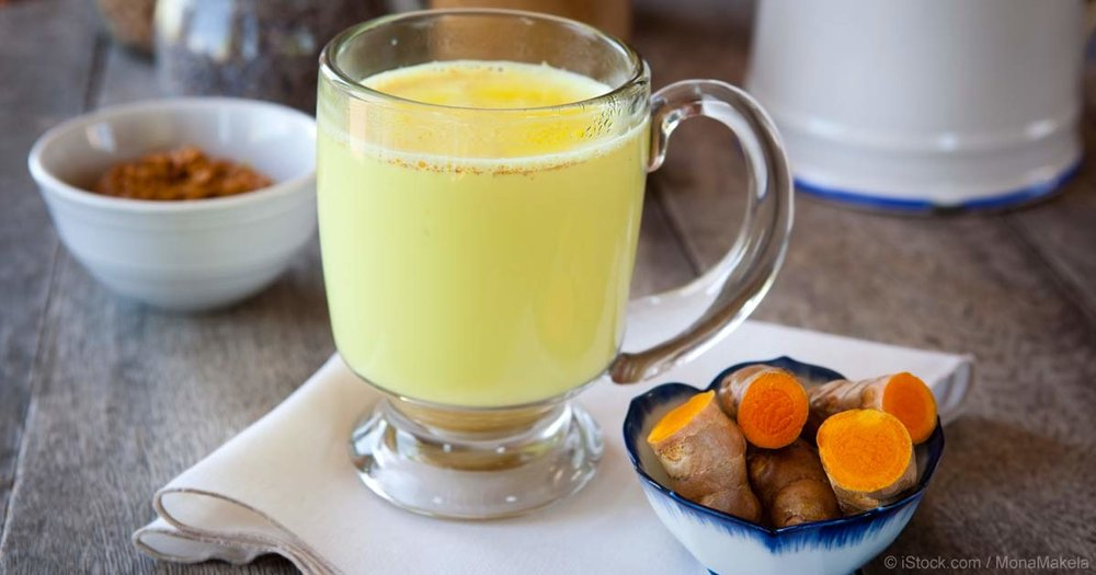 You can add chamomile or turmeric in your morning tea or whenever you drink a hot beverage to help soothe your skin.