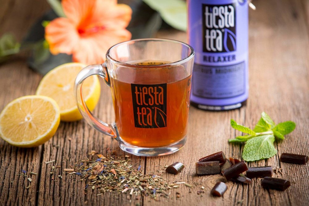 Choose different tea flavors as you blend them into one delicious and relaxing beverage.