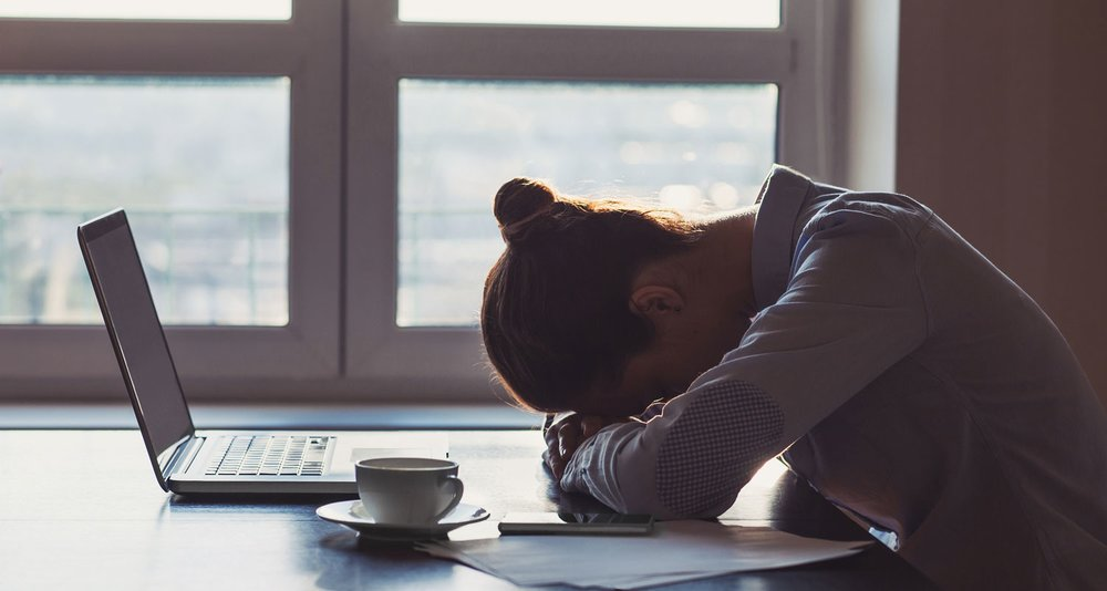 The depression most working adults feel caused them to have difficulty in concentrating, which declines their work productivity.