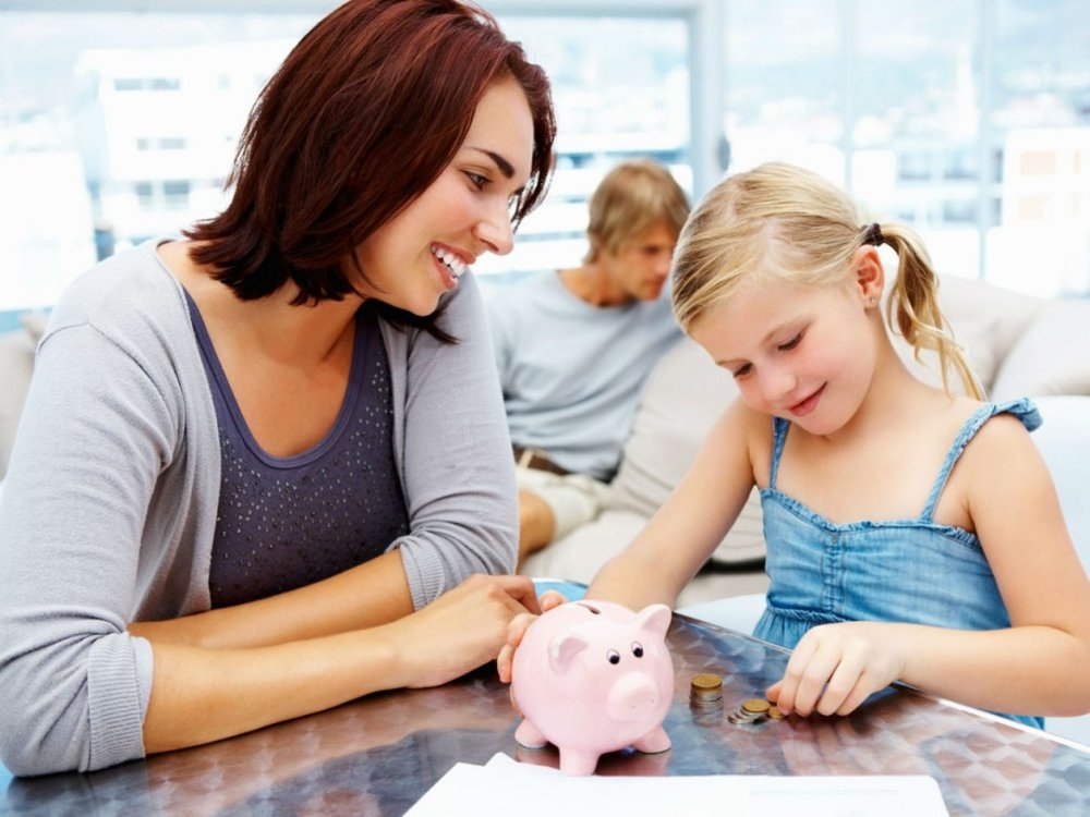 Giving an allowance to your children is one way of teaching them how to budget and save their money.