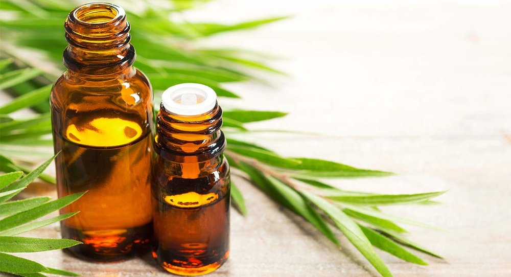 Tea Tree Oil also helps in targeting and treating your acne.