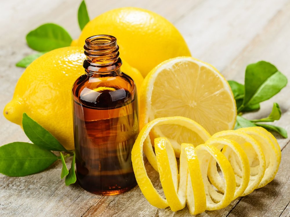 Lemon oil is part of the citrus oil family that help in improving your mood.