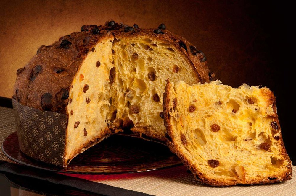 You can choose either a plain or chocolate Panettone bread to buy this Christmas Season.