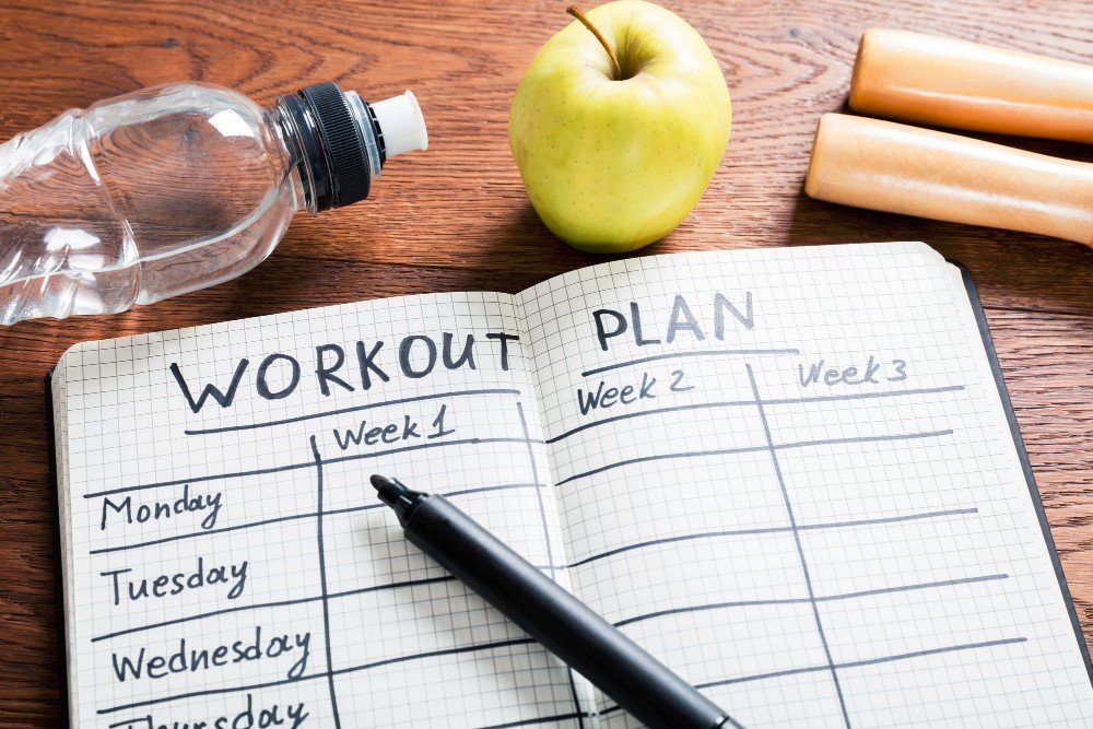 The health experts recommend treating your workout as a meeting or appointment you shouldn't miss on your calendar.