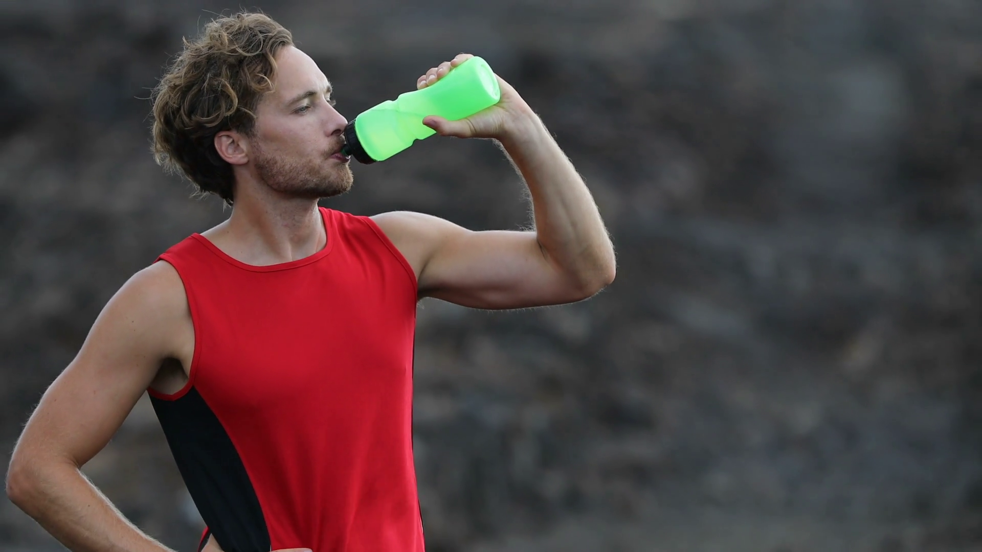 It's important to hydrate yourself occasionally throughout your exercise routine to prevent muscle cramps.