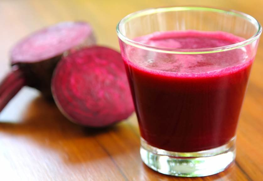 Drinking water with beets, or beet juice helps lower your blood pressure compared to those who drink pure water.