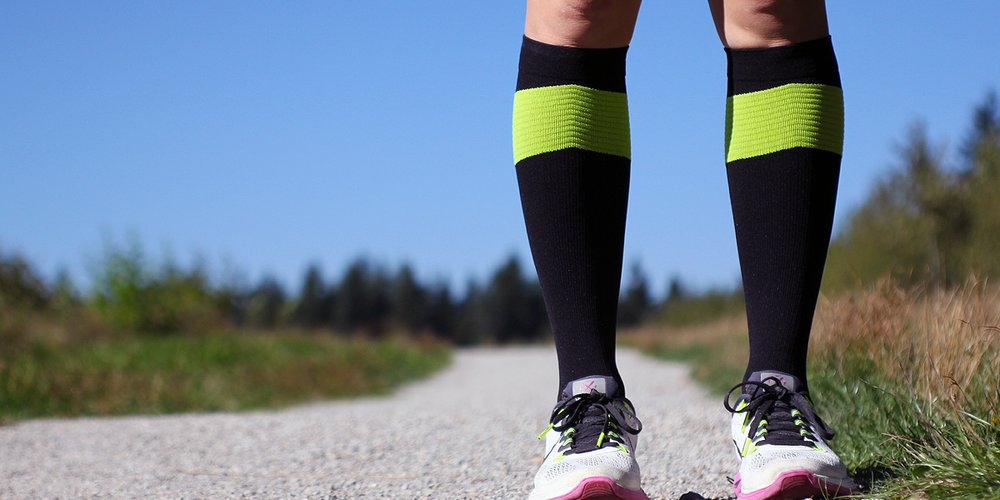 Compression socks prevent your body from feeling puffy and stagnant after long hours of flight and inactivity.