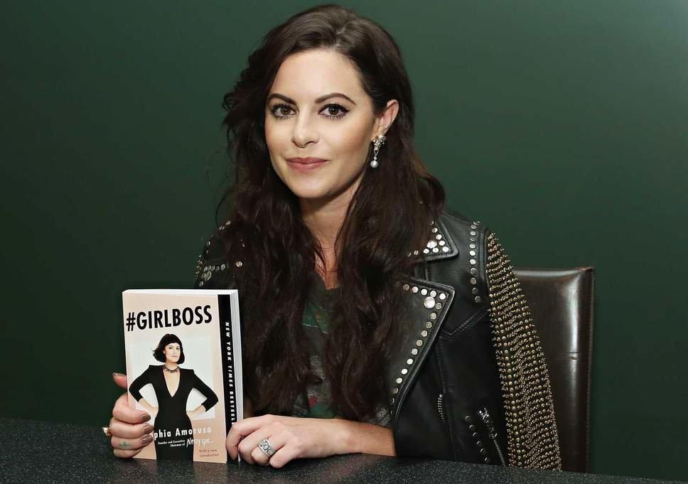 Sophia's memoir entitled #Girlboss became