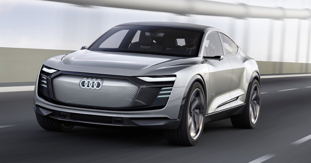 The E-Tron Sportback is an electric SUV intended for sports car users.