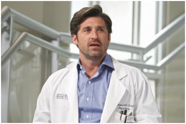 Paging Doctor Patrick Dempsey The Greys Anatomy Annual Check Up